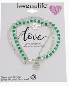New With Tags Love This Life Charm Bracele…